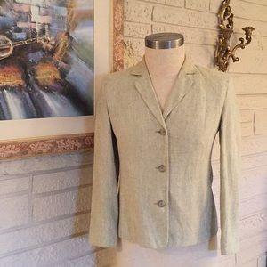 Jones of New York Linen Jacket